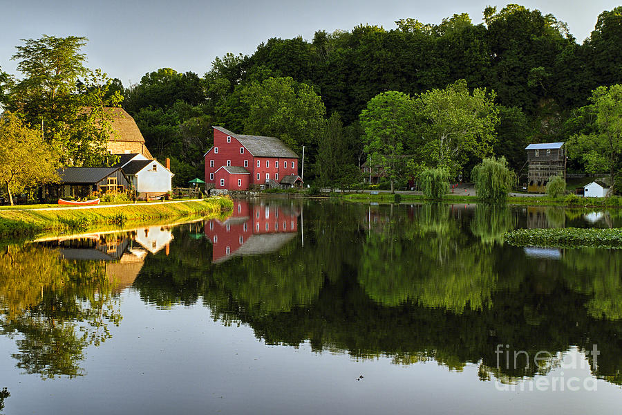 South Branch Of The Raritan River Photograph - Tranquil River Reflections  by George Oze