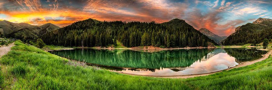 Reservoir Photograph - Tranquility by Brett Engle