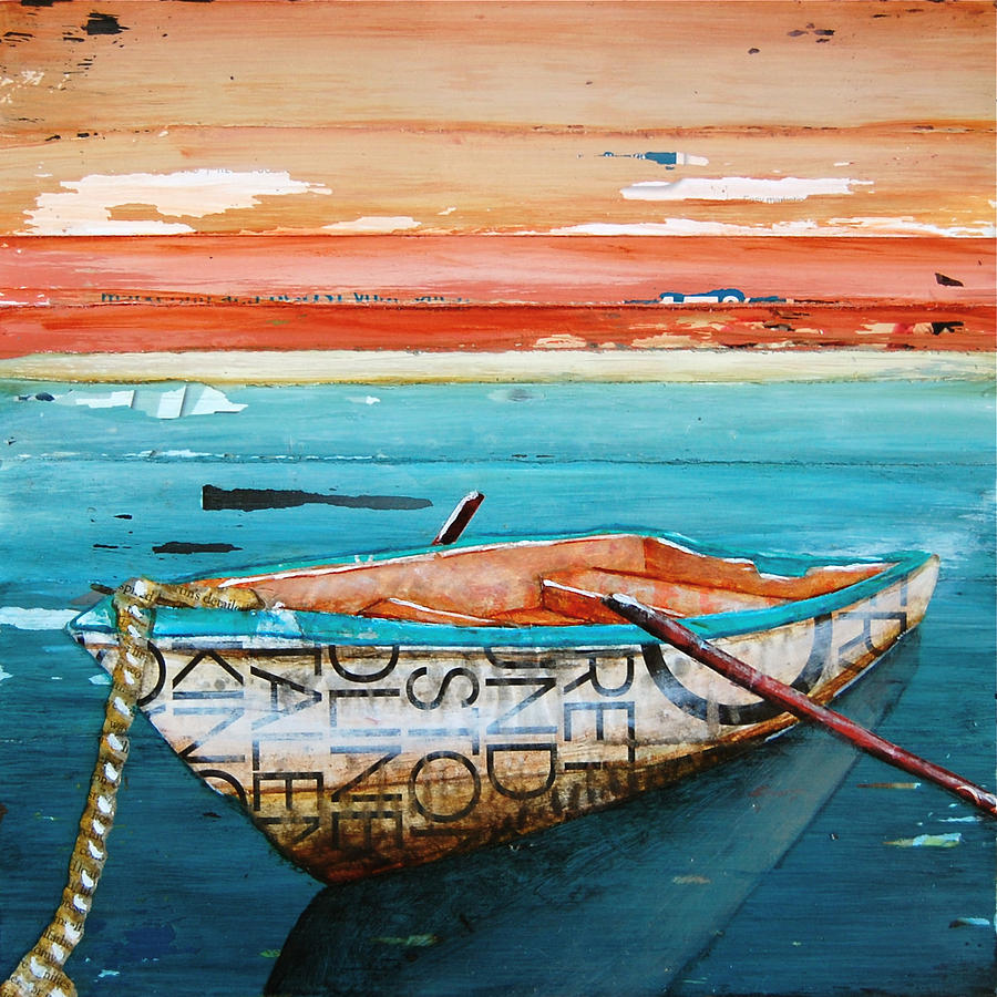Boat Mixed Media - Tranquility by Danny Phillips