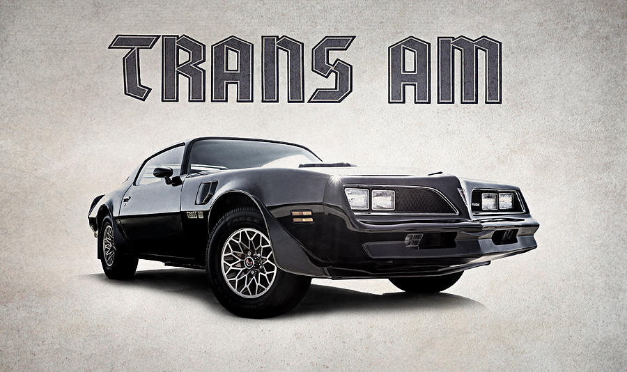 Firebird Digital Art - Trans Am by Douglas Pittman
