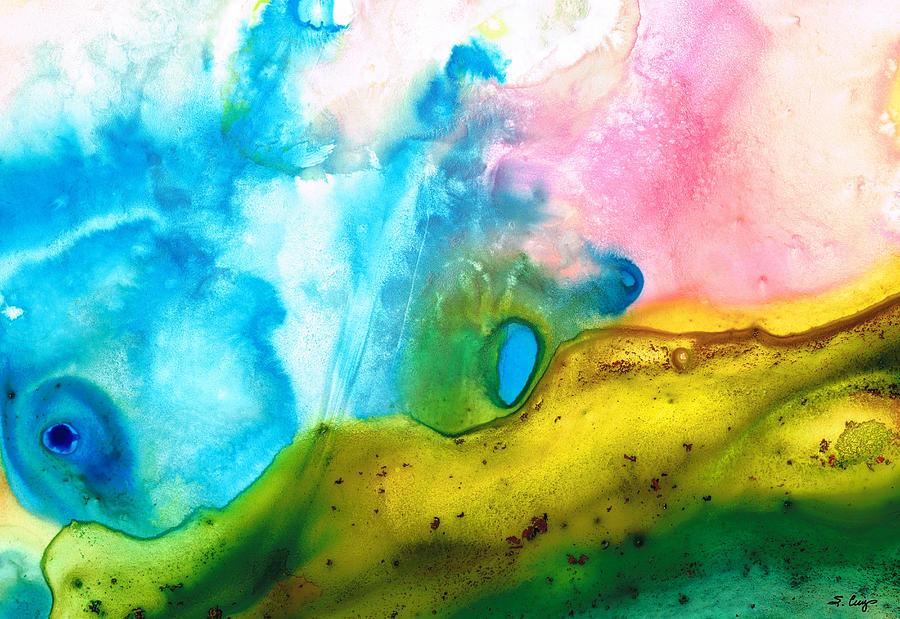 Sharon Cummings Painting - Transformation - Abstract Art By Sharon Cummings by Sharon Cummings