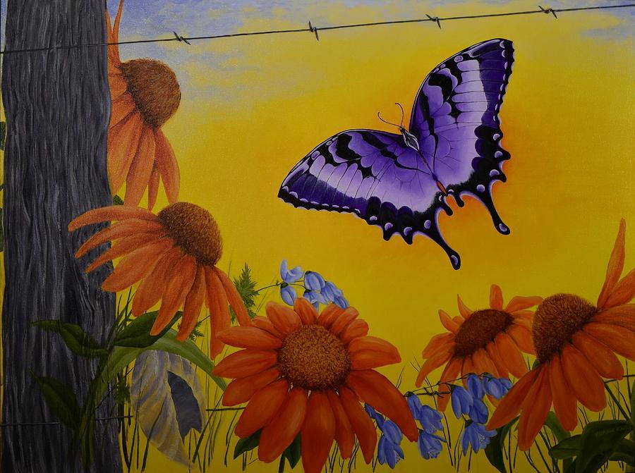 Transformation Painting - Transformed by Kathleen Keller