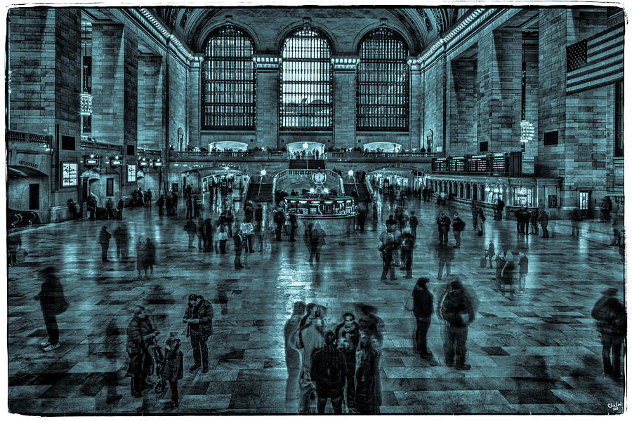 Grand Central Photograph - Transient Existance by Chris Lord
