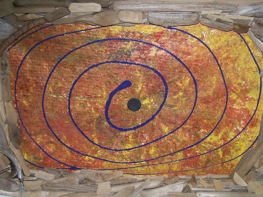 Timeline Painting - Transit Of Venus by Jonathon Hansen