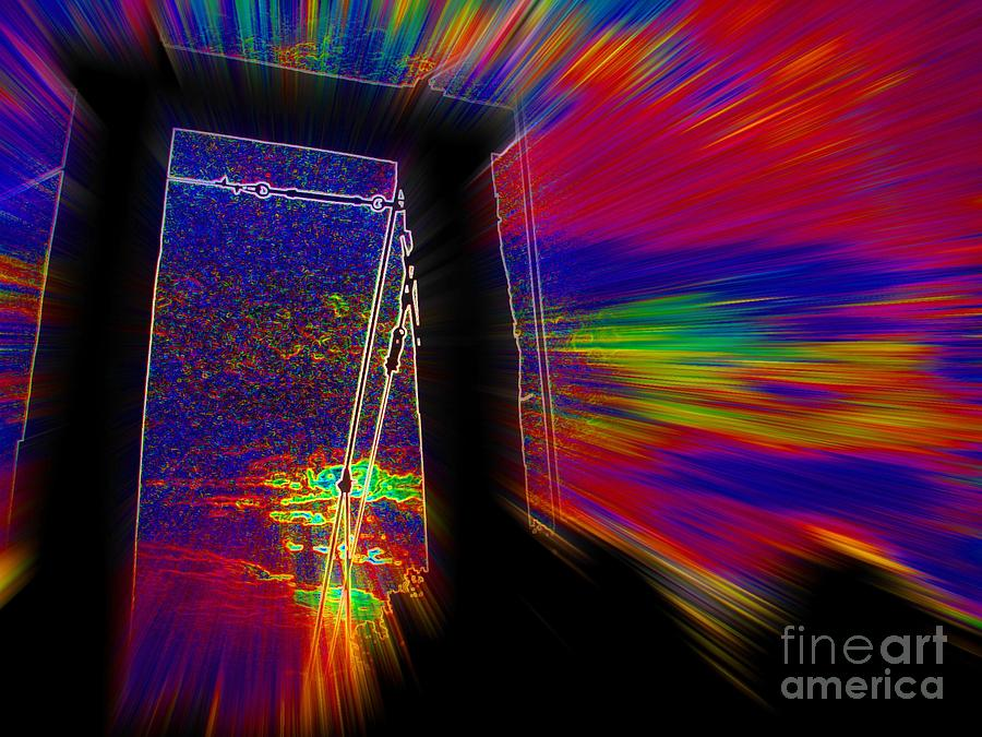 Transition Digital Art - Transition by Lorles Lifestyles