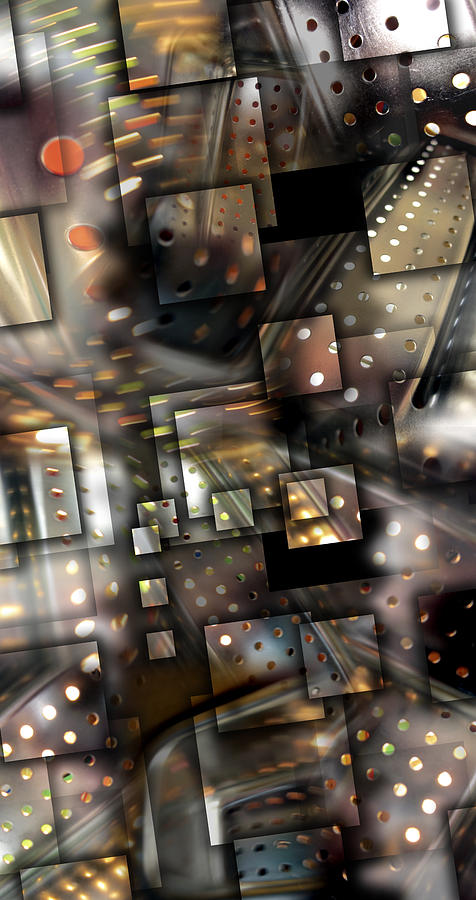 Abstract Photograph - Transpired Lights by Florin Birjoveanu