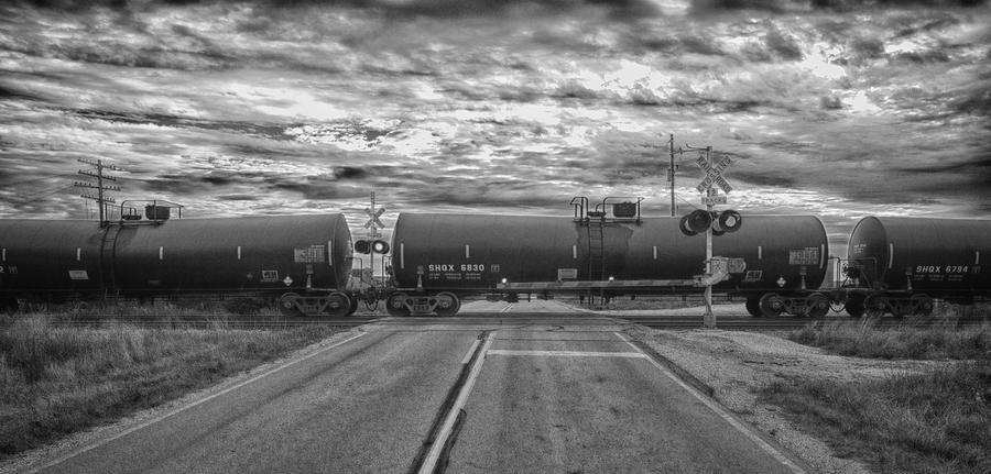 Trains Photograph - Transport by Ricky L Jones
