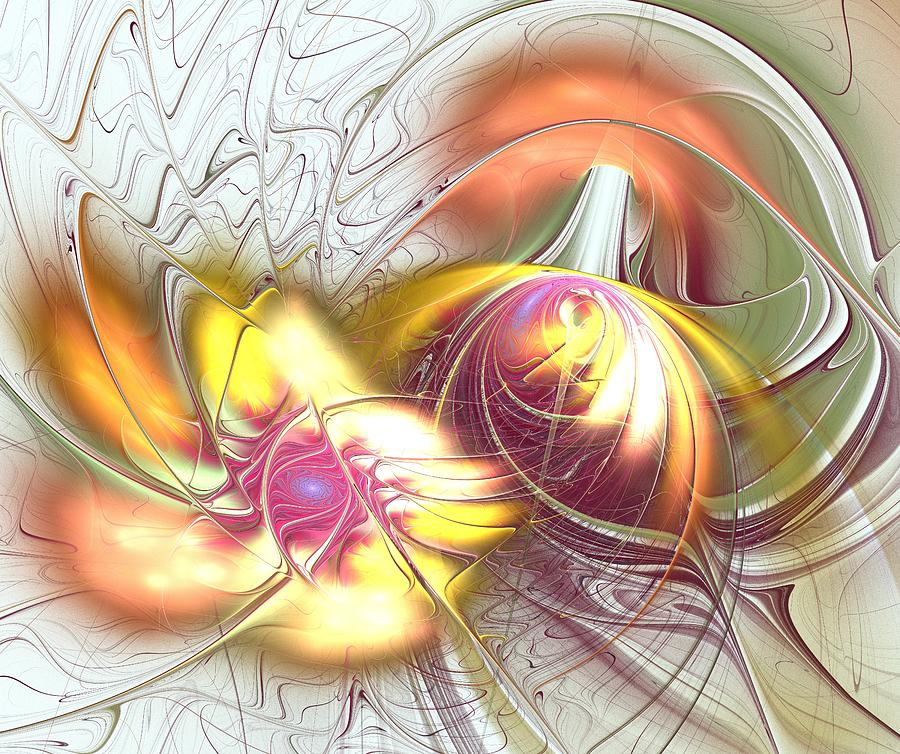 Interior Digital Art - Transwarp by Anastasiya Malakhova