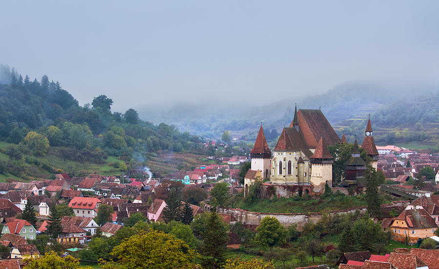 Architecture Photograph - Transylvania by Mircea Costina Photography