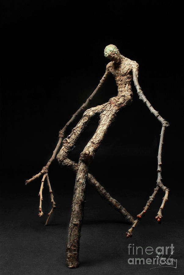 Adam Sculpture - Travail by Adam Long
