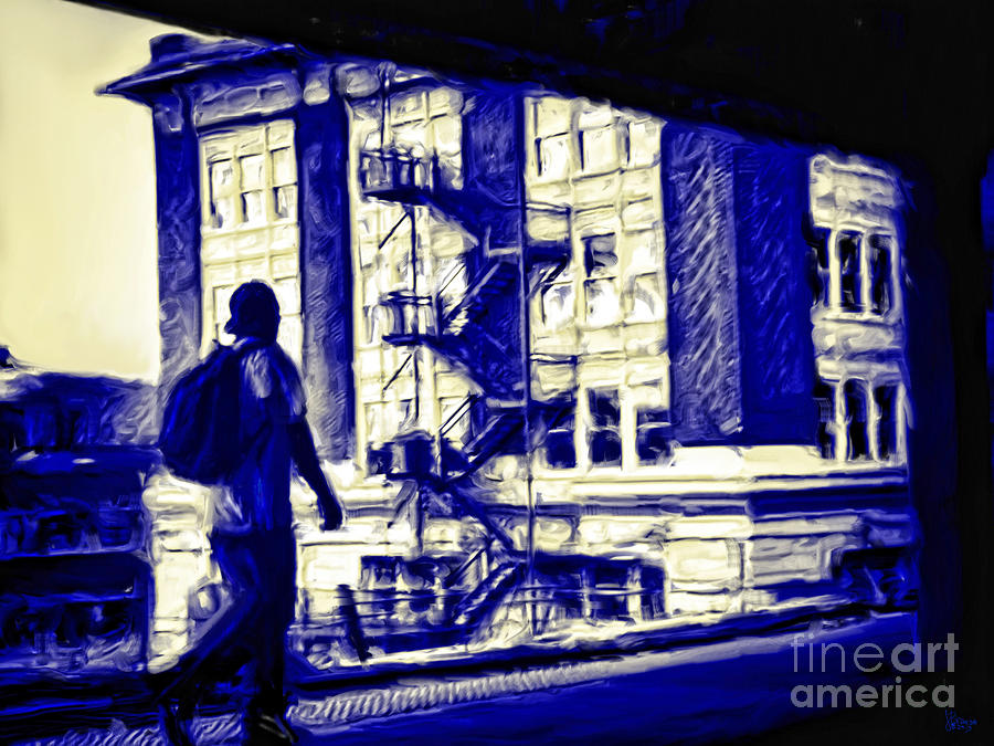 Traveling Photograph - Traveling Man by Jeff Breiman