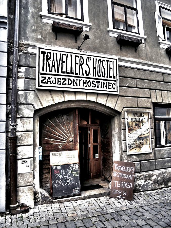 Travellers Hostel - Cesky Krumlov by Juergen Weiss