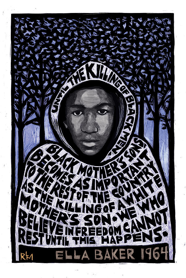 Trayvon Martin Mixed Media by Ricardo Levins MoralesFine Art America