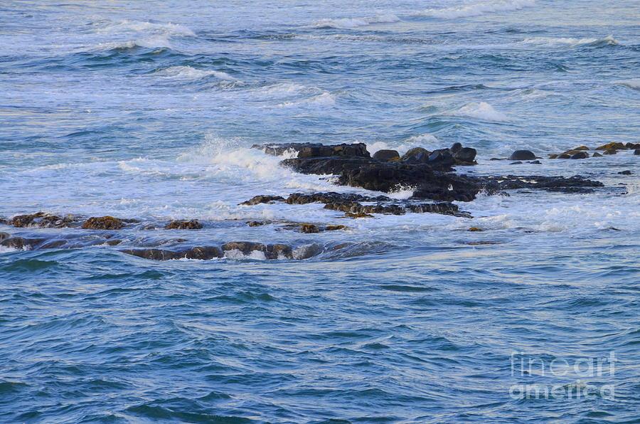 Ocean Photograph - Treacherous Shorebreak by Mary Deal