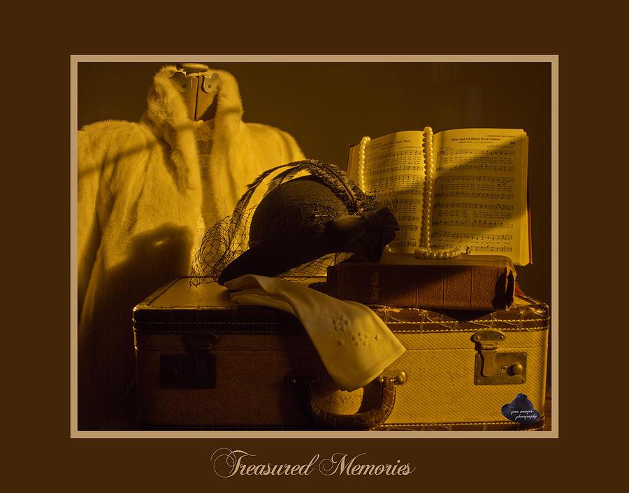 Treasures Photograph - Treasured Memories by Gina Munger
