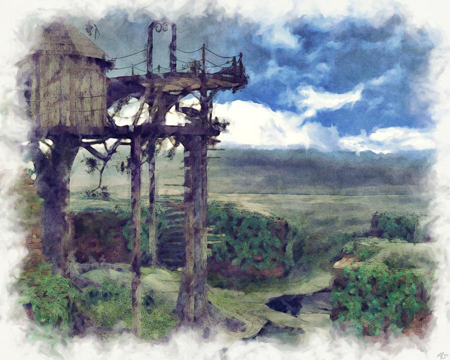 Tree House by Maynard Ellis