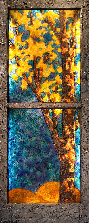 Tree inside a Window by Christopher Schranck