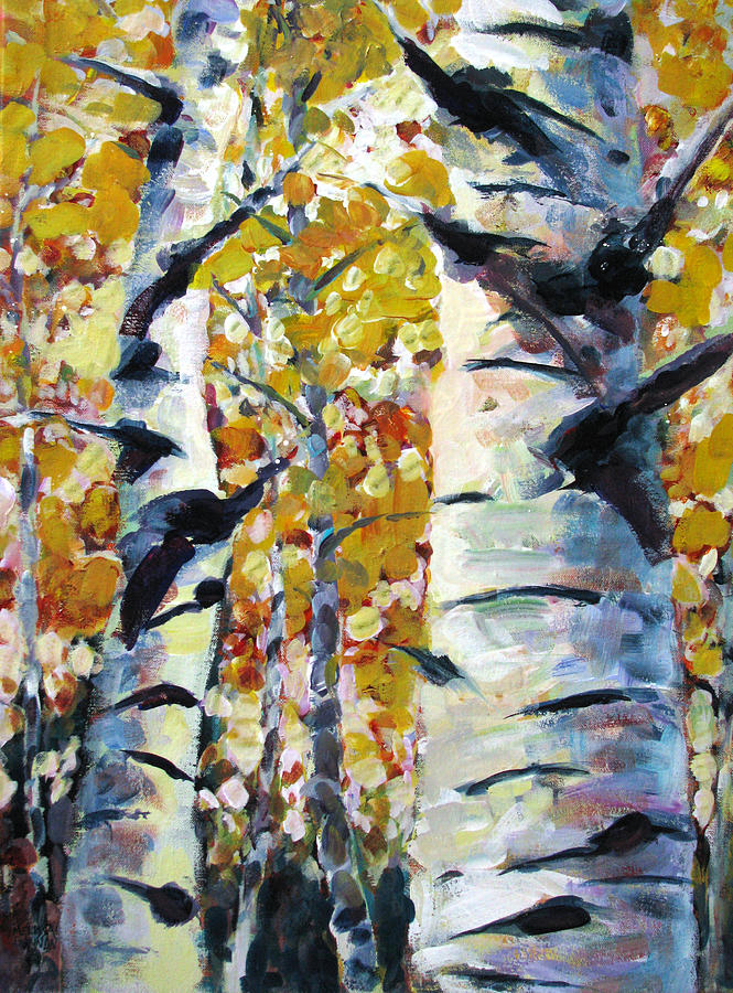 Trees Painting - Tree Magic by Melissa Gannon