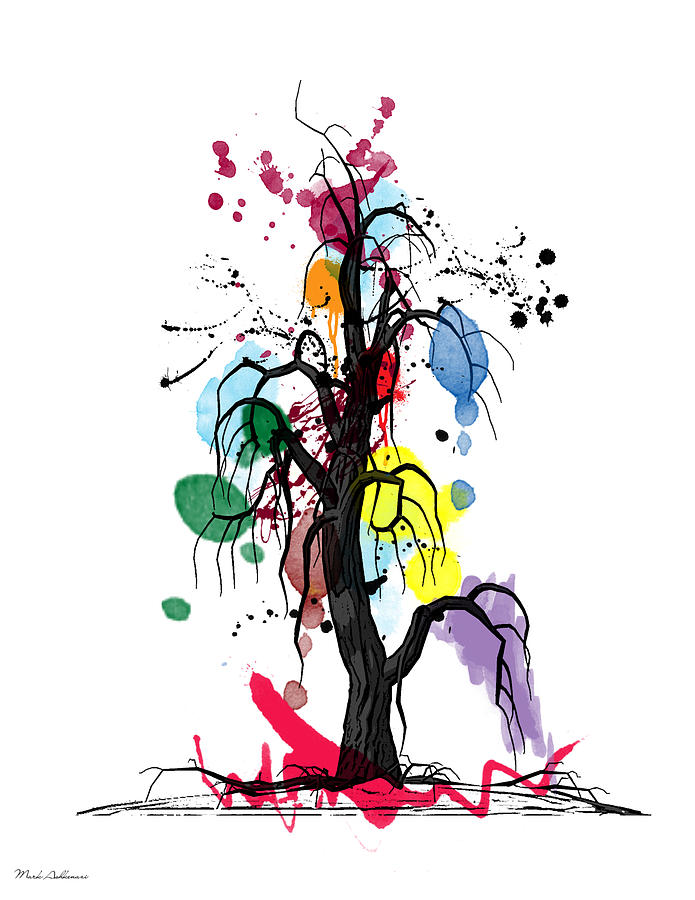 Tree Digital Art - Tree by Mark Ashkenazi