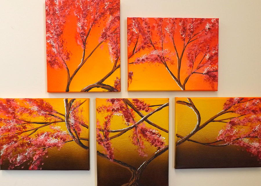 Tree Of Infinite Love Painting