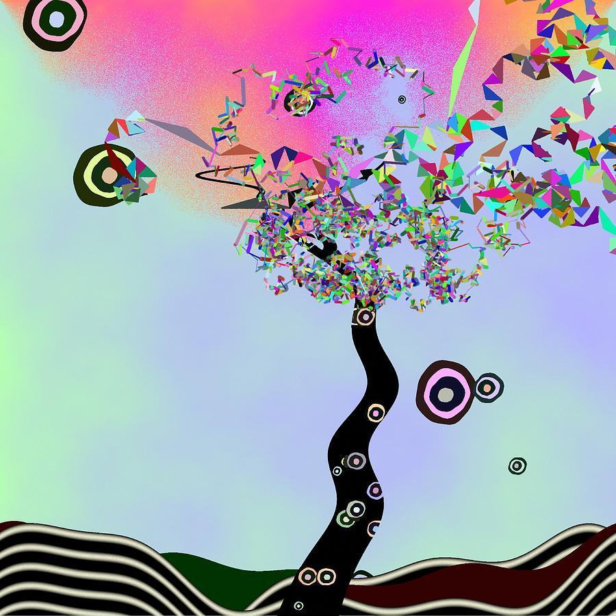 Jim Morrison Digital Art - Tree Of Jim Morrison by GuoJun Pan