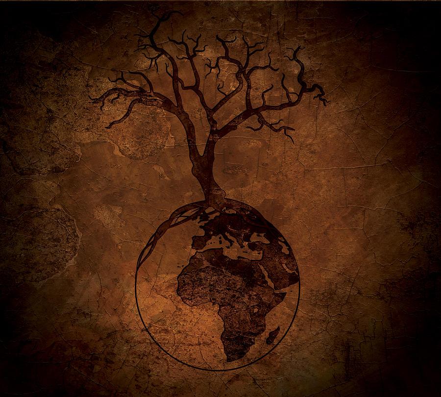 Tree Of Life Africa Digital Art By Brandi Rocha