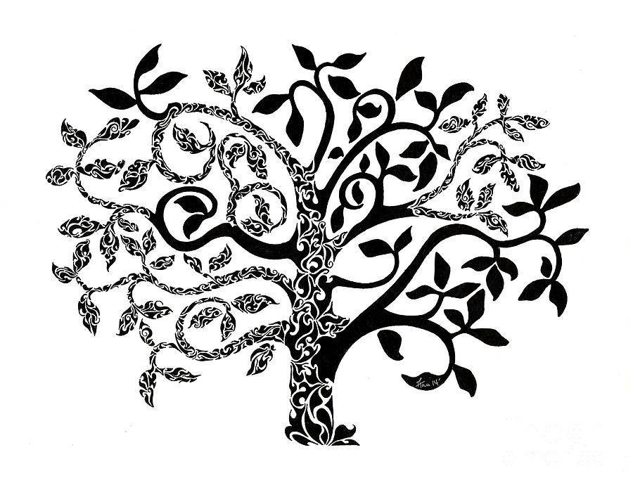 Tree Of Life Painting By Anushree Santhosh