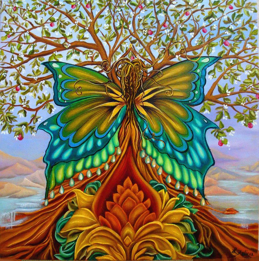 Tree Of Life Painting - Tree of Life by Lori Felix