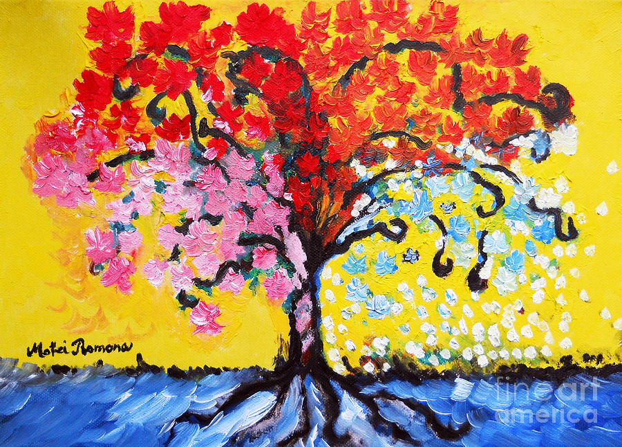 Tree Of Life Painting - Tree Of Life by Ramona Matei