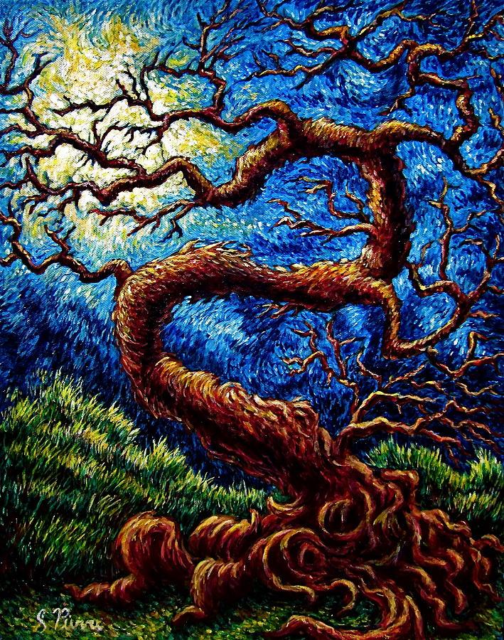 Tree Painting - Tree Of Life by Sebastian Pierre
