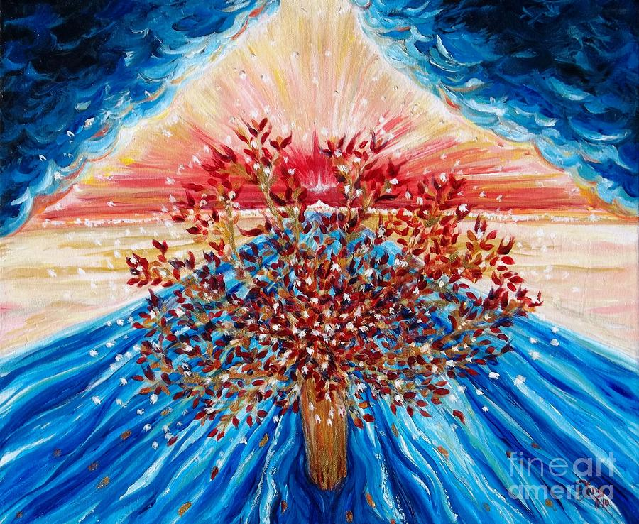 Tree Painting - Tree Of Life by Suzanne King