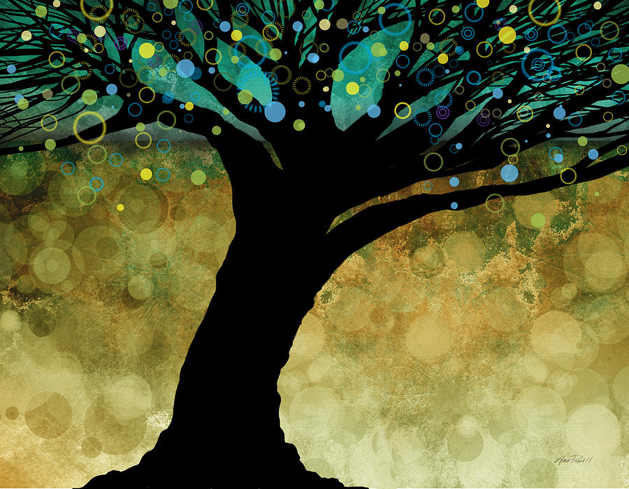 Tree Painting - Tree Of Life Two  by Ann Powell