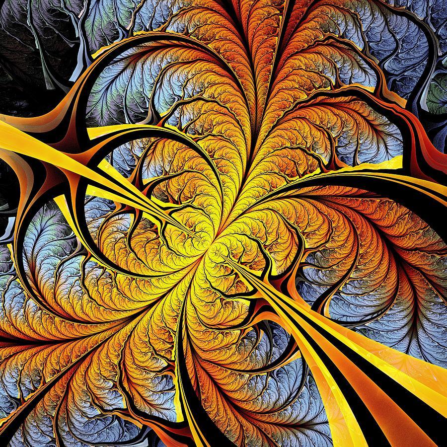 Computer Digital Art - Tree Perspective by Anastasiya Malakhova