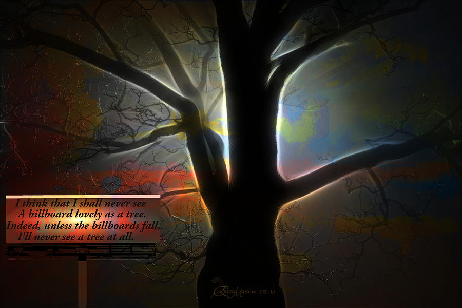 Tree Digital Art - Trees - Featured In comfortable Art Group by EricaMaxine  Price