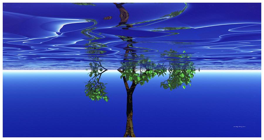 Trees In Heaven by Wayne Bonney