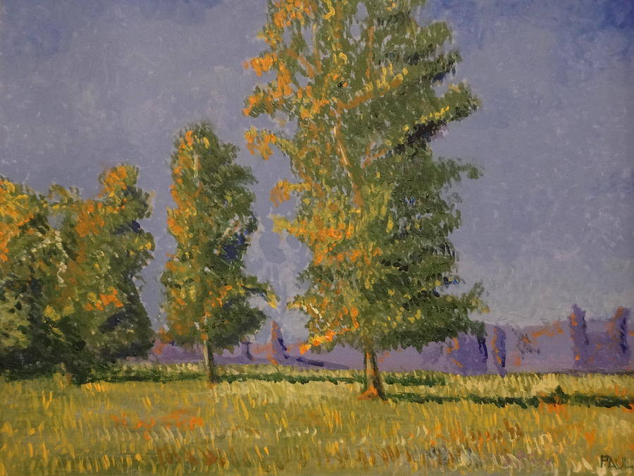 Impressionism Painting - Trees In The Summer by Paul Benson