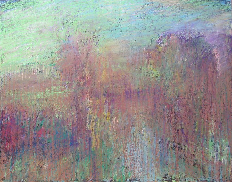 Trees Ix Pastel by Vladimir Frolov
