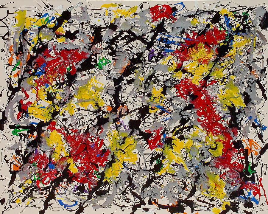 Paintings Painting - Treillage by Wayne Salvatore