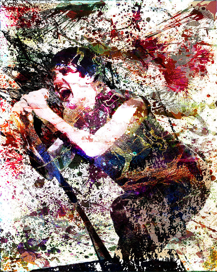 trent reznor artwork mixed media by ryan rock artist
