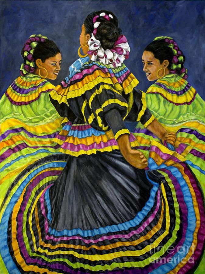 Tres Bailarinas by Pat Haley