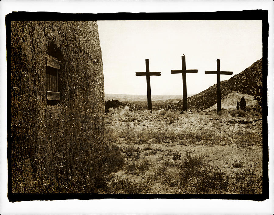Tres Cruces New Mexico by Jennifer Wright