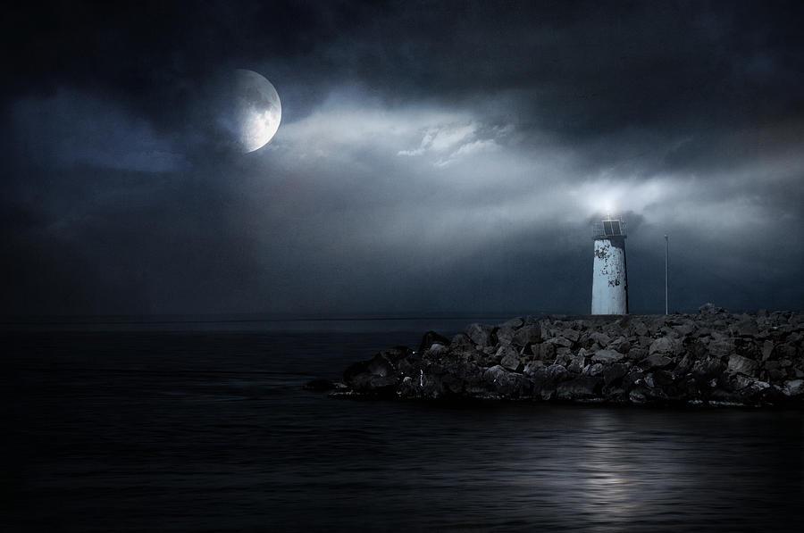 Lighthouse Photograph - Tres Deseos by Taylan Apukovska
