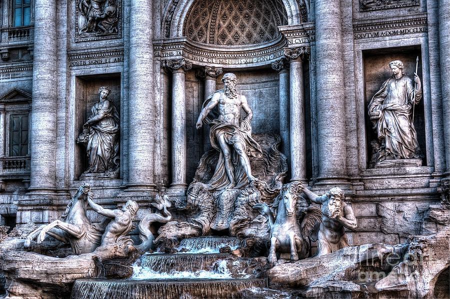 Trevi Fountain Photograph
