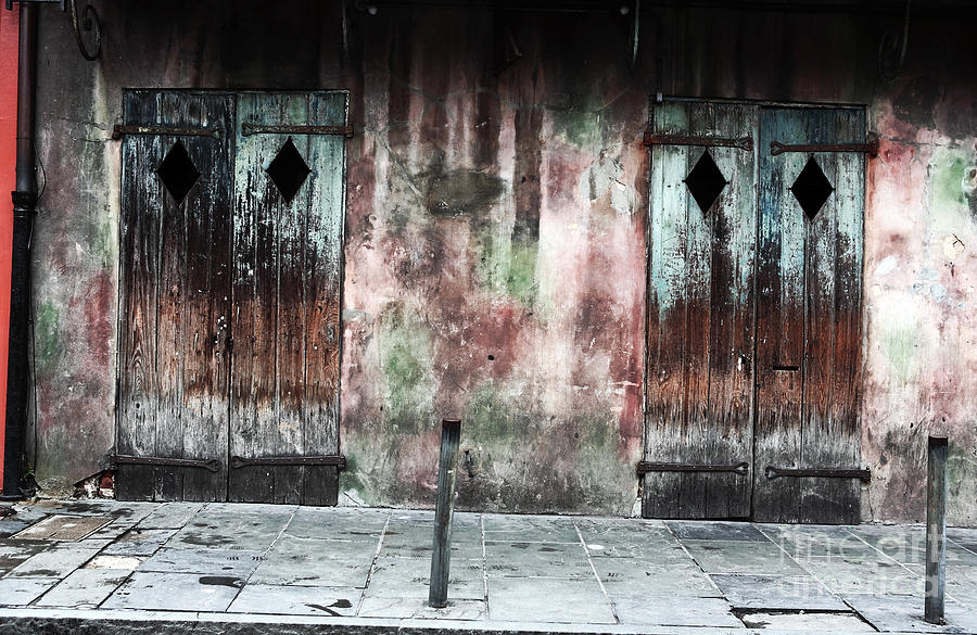 Triangle Doors Photograph - Triangle Doors by John Rizzuto