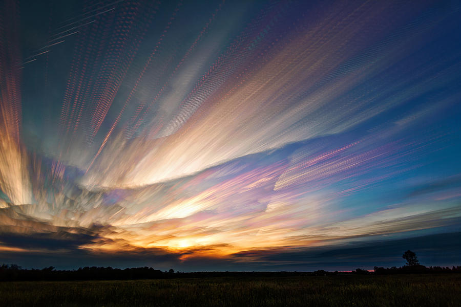 Matt Molloy Photograph - Triangular Void by Matt Molloy