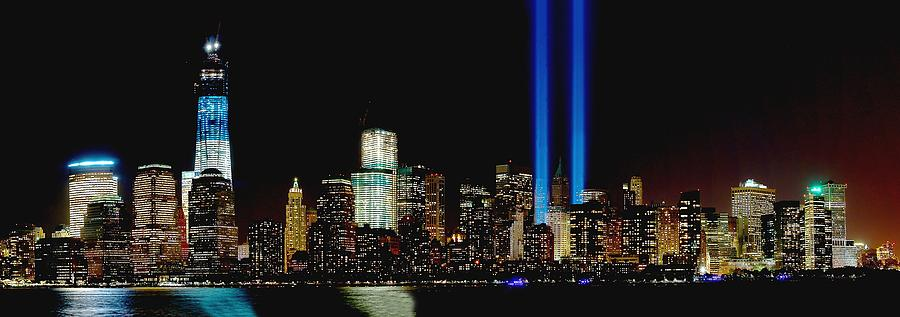 11 Photograph - Tribute In Light Memorial by Nick Zelinsky