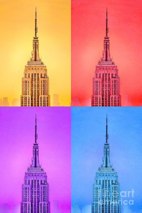 Tribute To Andy Warhol Photograph