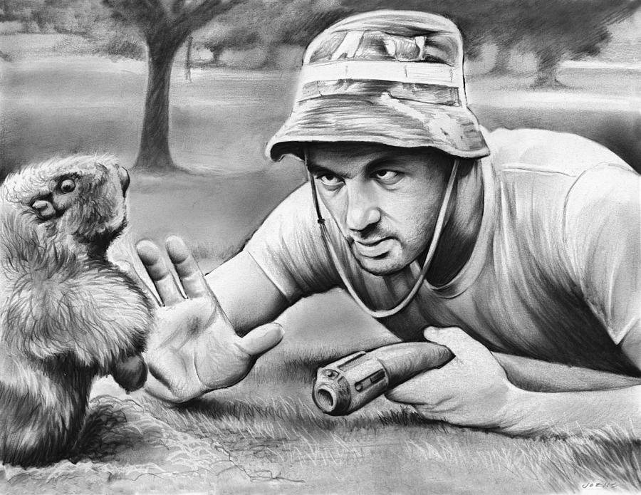 Tribute To Caddyshack Drawing