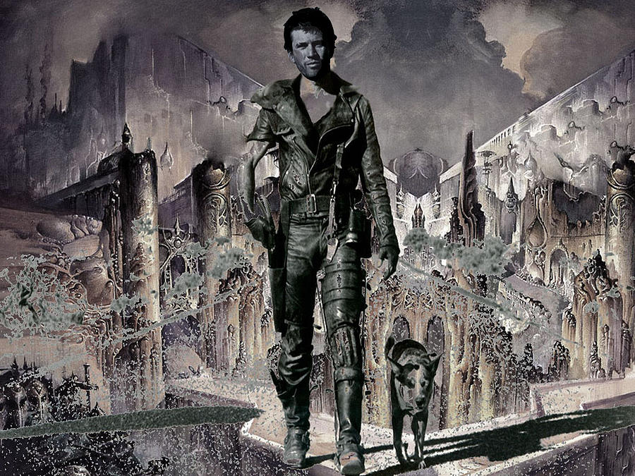 Fantasy Digital Art - Tribute To Mad Max by Francis Erevan