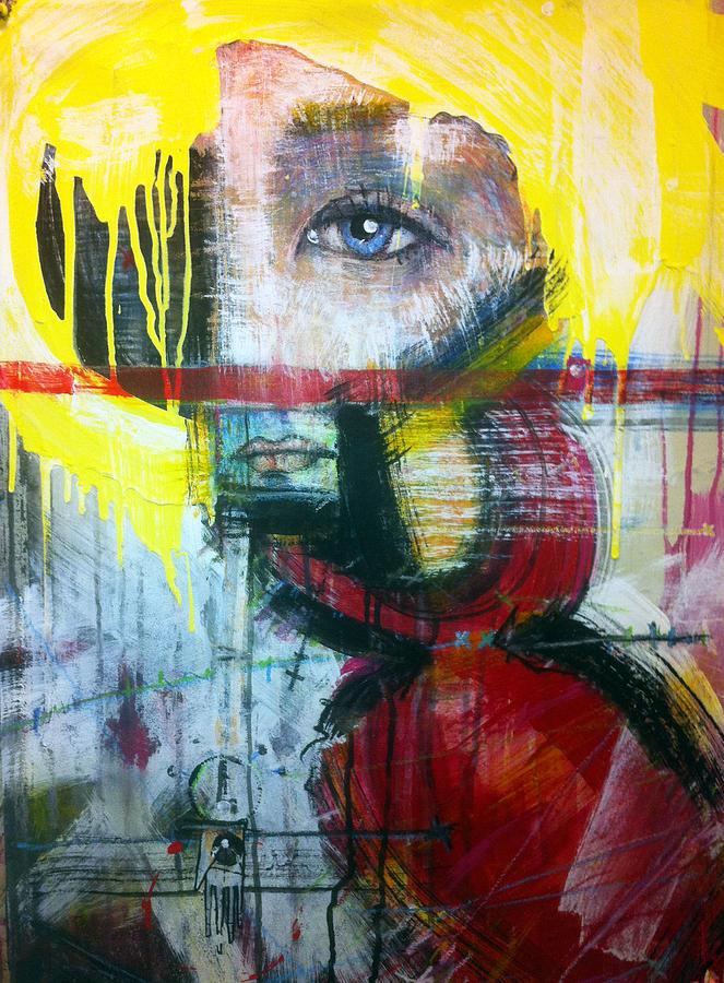 Battlestar Galactica Painting - Tricia Helfer As Caprica Six by Mark M  Mellon